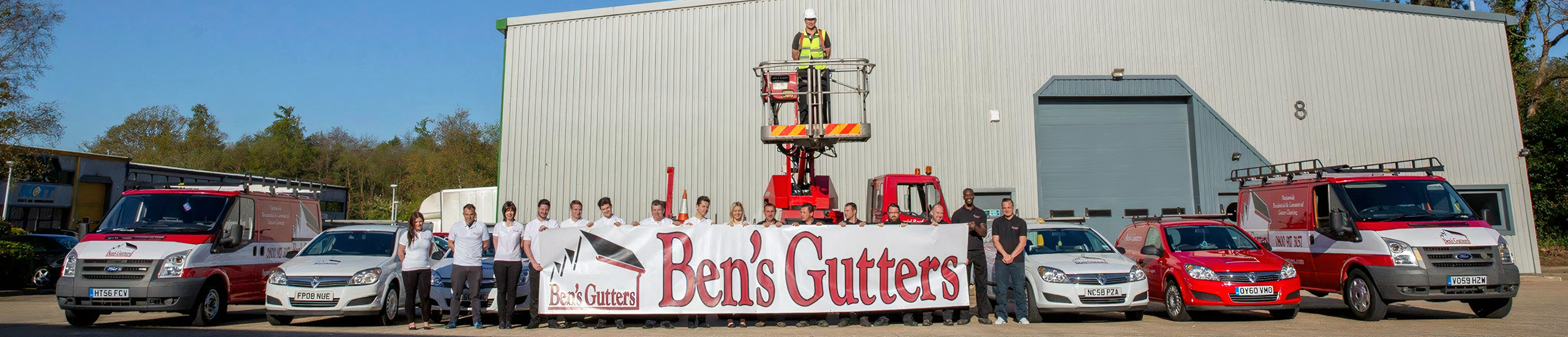 bens gutters Carnforth