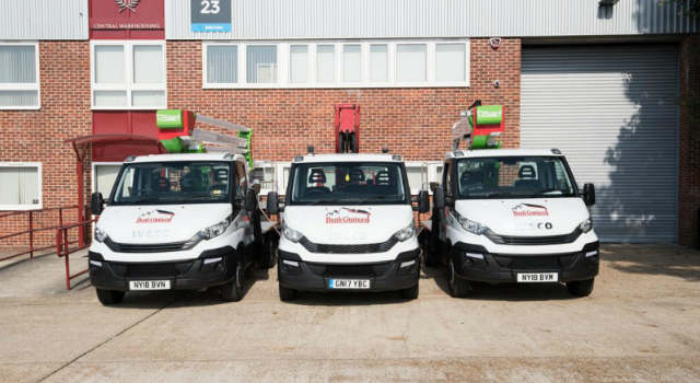gutter cleaning vehicles Clayton-le-Moors